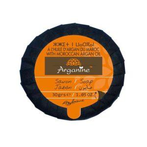 Savon doux arganine pour l'hygiene quotidienne.