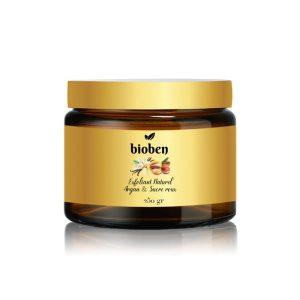 exfoliant naturel l'huile argan sucre de canne et beurrre de karite BIOBEN 250gr